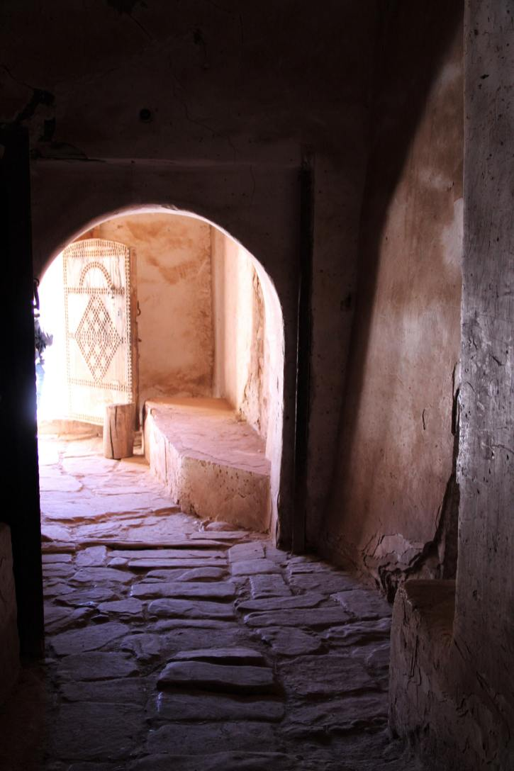 Entrata della kasbah di Telouet