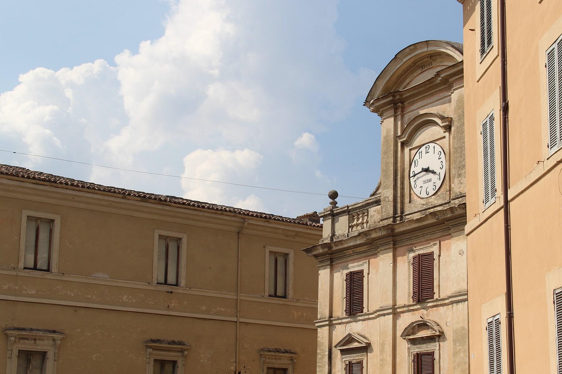 Piazza del mercato Spoleto