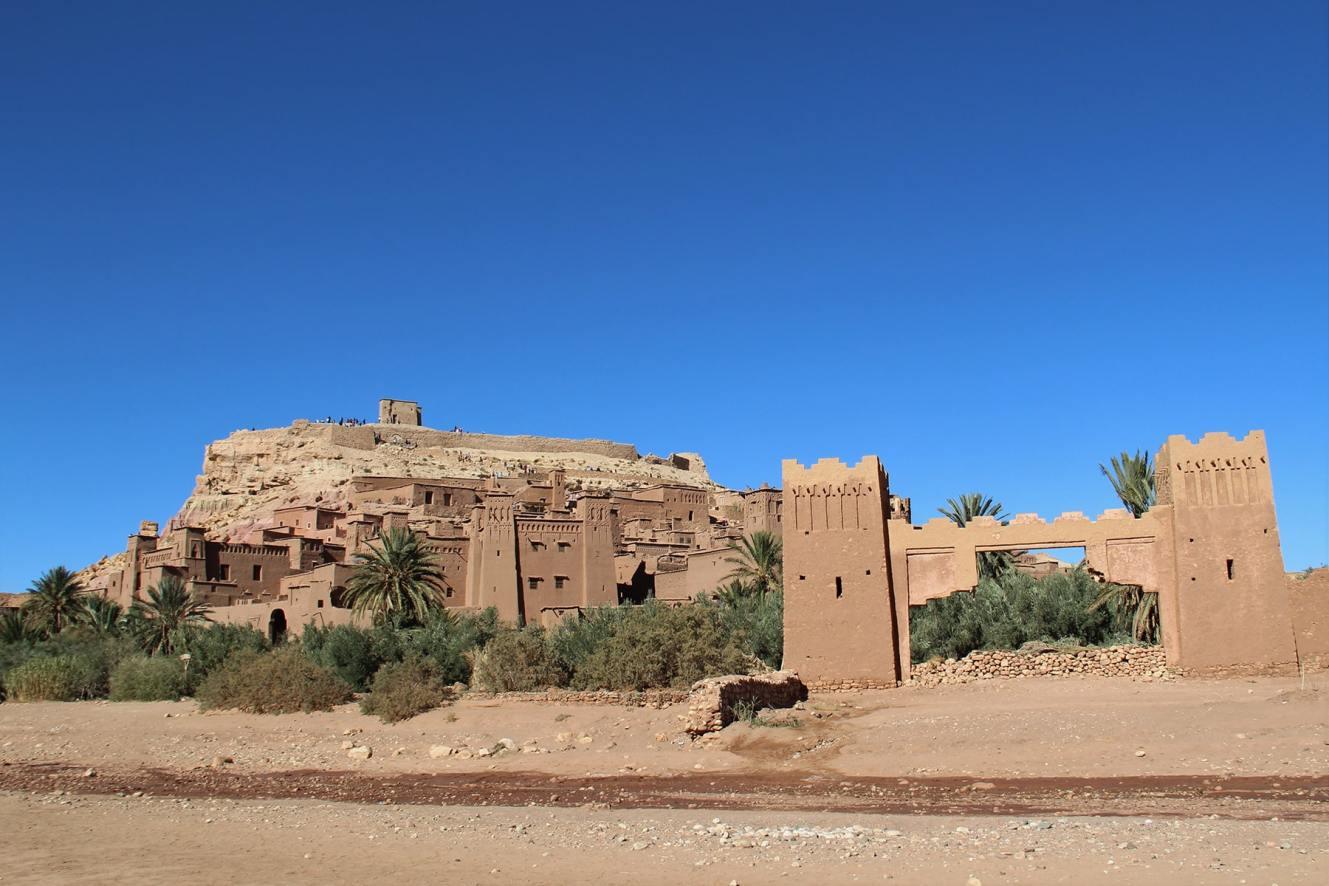 Porta dello ksar di Ait Benhaddou