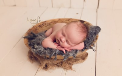 Brighton Baby Photography | George 18 days old