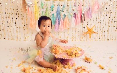 Brighton Cake Smash Photographer | Jasmine 1st Birthday