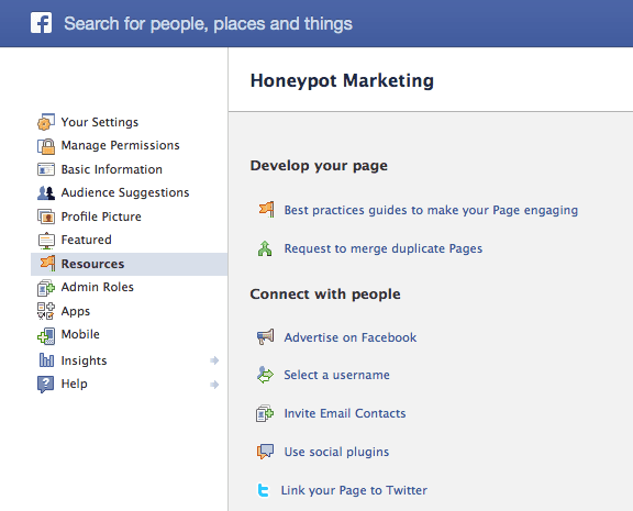 Facebook tips, merging duplicate pages