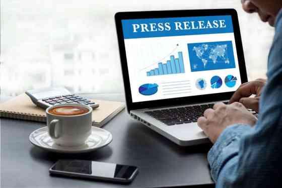5 Press Release Tactics on Computer Screen.