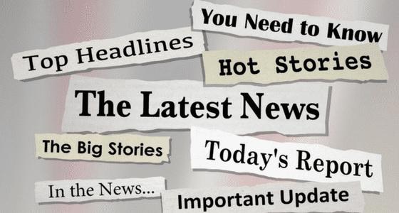 various urgent headlines