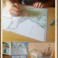 New World Explorers Lapbook