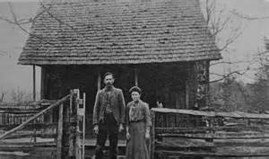 log home circa 1900 arkansas
