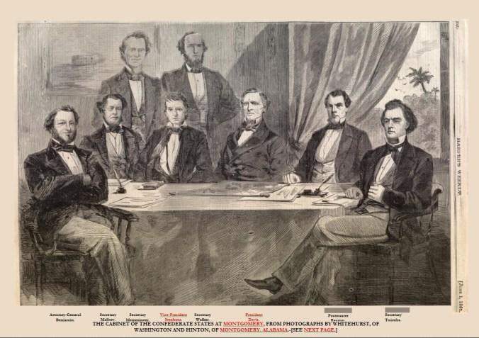 Confederate States of America Cabinet