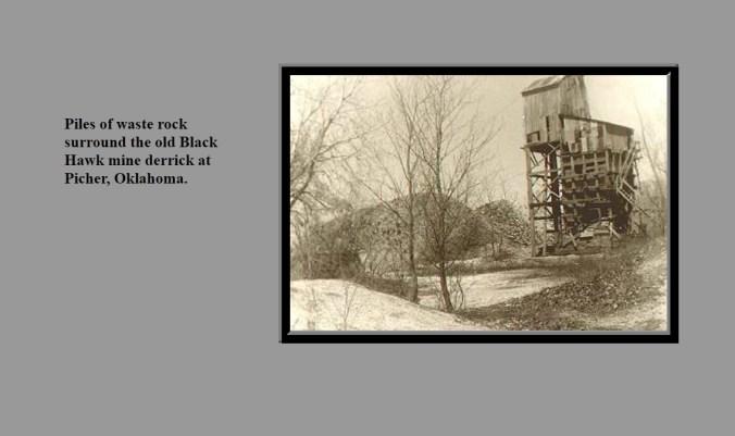 black hawk mine waste rock