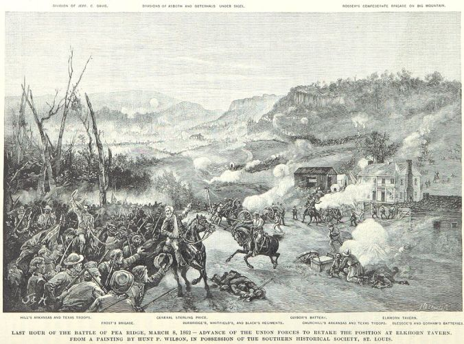 Last_hour_of_the_Battle_of_Pea_Ridge