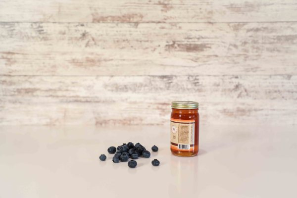 Small Blueberry Flavored Honey - side