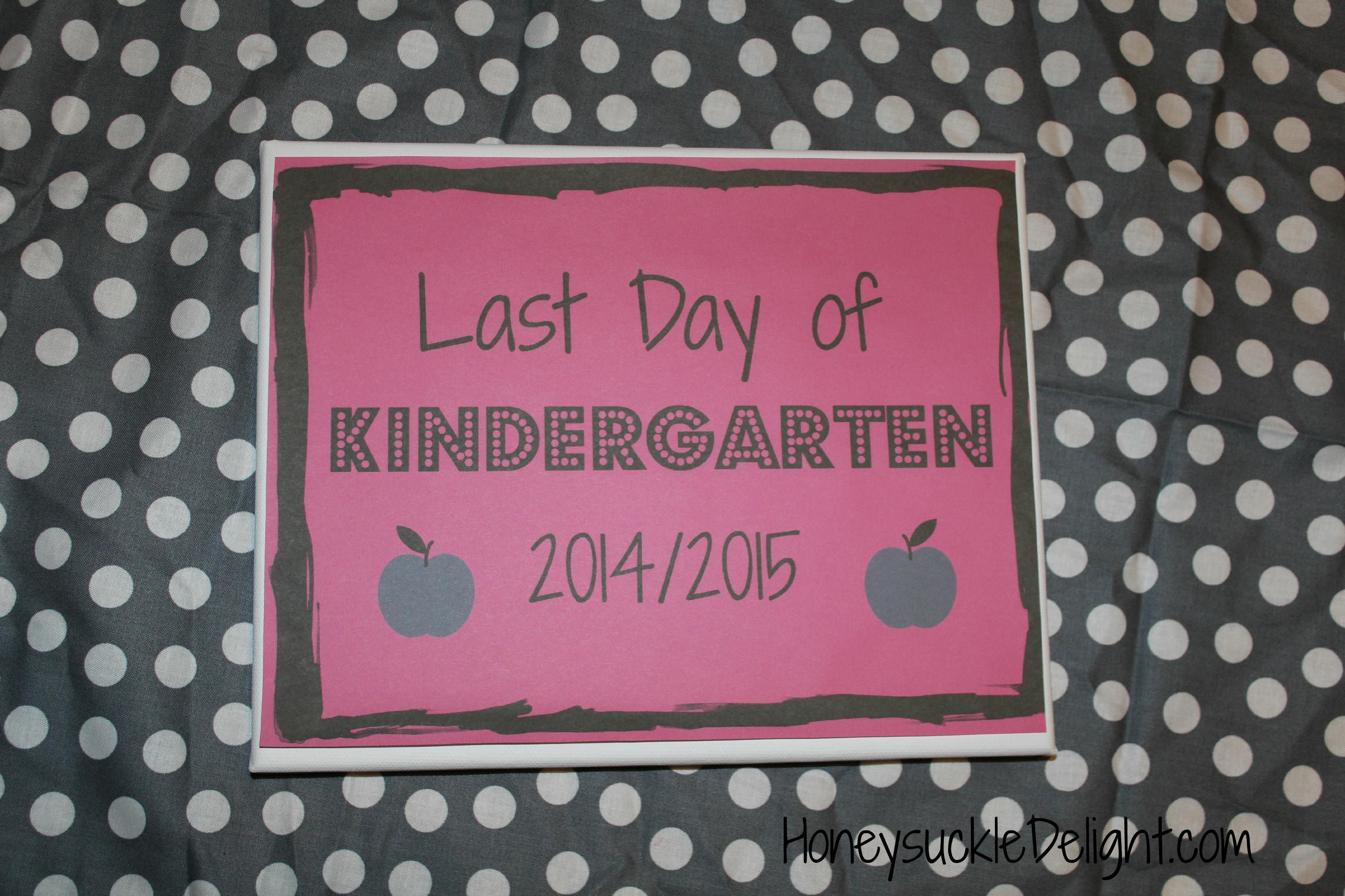 Last Day Of School Free Printables Honeysuckle Delight