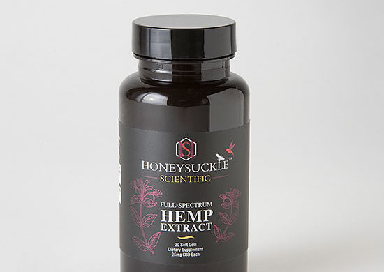 Hemp Soft Gel Capsules