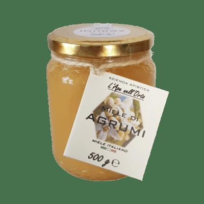 Honey the Brave - Azienda Apistica L'Ape nell'Orto - Barattolo Miele Agrumi