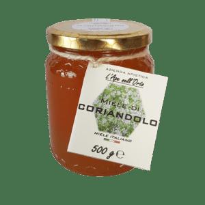 Honey the Brave - Azienda Apistica L'Ape nell'Orto - Barattolo Miele Coriandolo