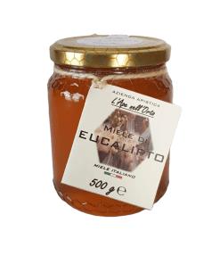 Honey the Brave - Azienda Apistica L'Ape nell'Orto - Barattolo Miele Eucalipto