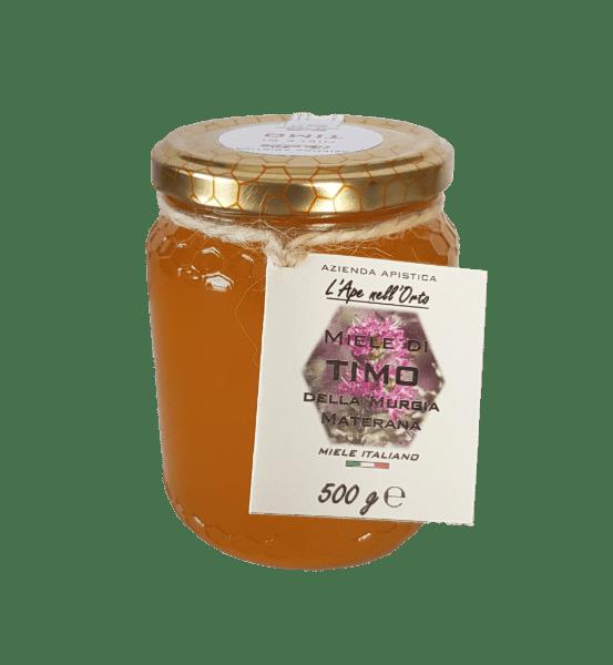 Honey the Brave - Azienda Apistica L'Ape nell'Orto - Barattolo Miele Timo
