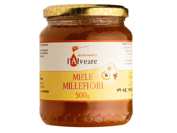 Honey the Brave - L 'Alveare - Barattolo Miele Millefiori