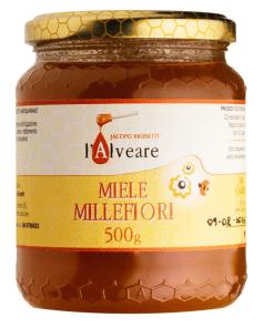 Honey the Brave - L 'Alveare - Barattolo Miele Millefiori