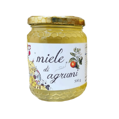 Honey the Brave - Saverio Alemanno - Barattolo Miele Agrumi
