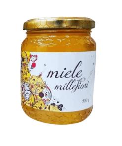Honey the Brave - Saverio Alemanno - Barattolo Miele Millefiori