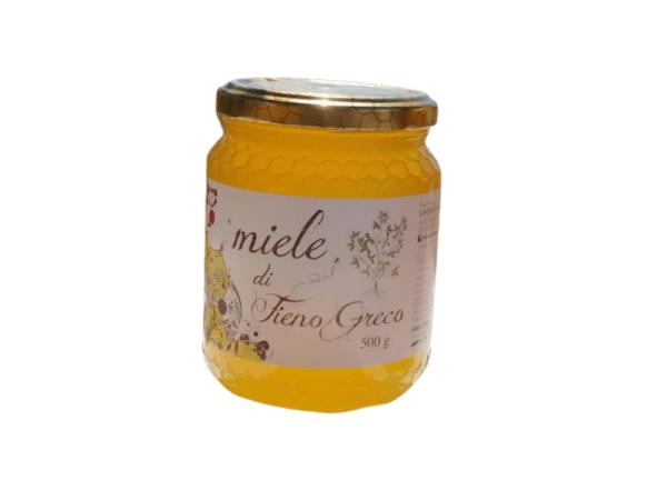 Honey the Brave - Saverio Alemanno - Barattolo Miele Fieno Greco