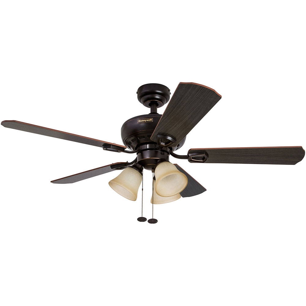 Honeywell Springhill Ceiling Fan, Oil Rubbed Bronze Finish
