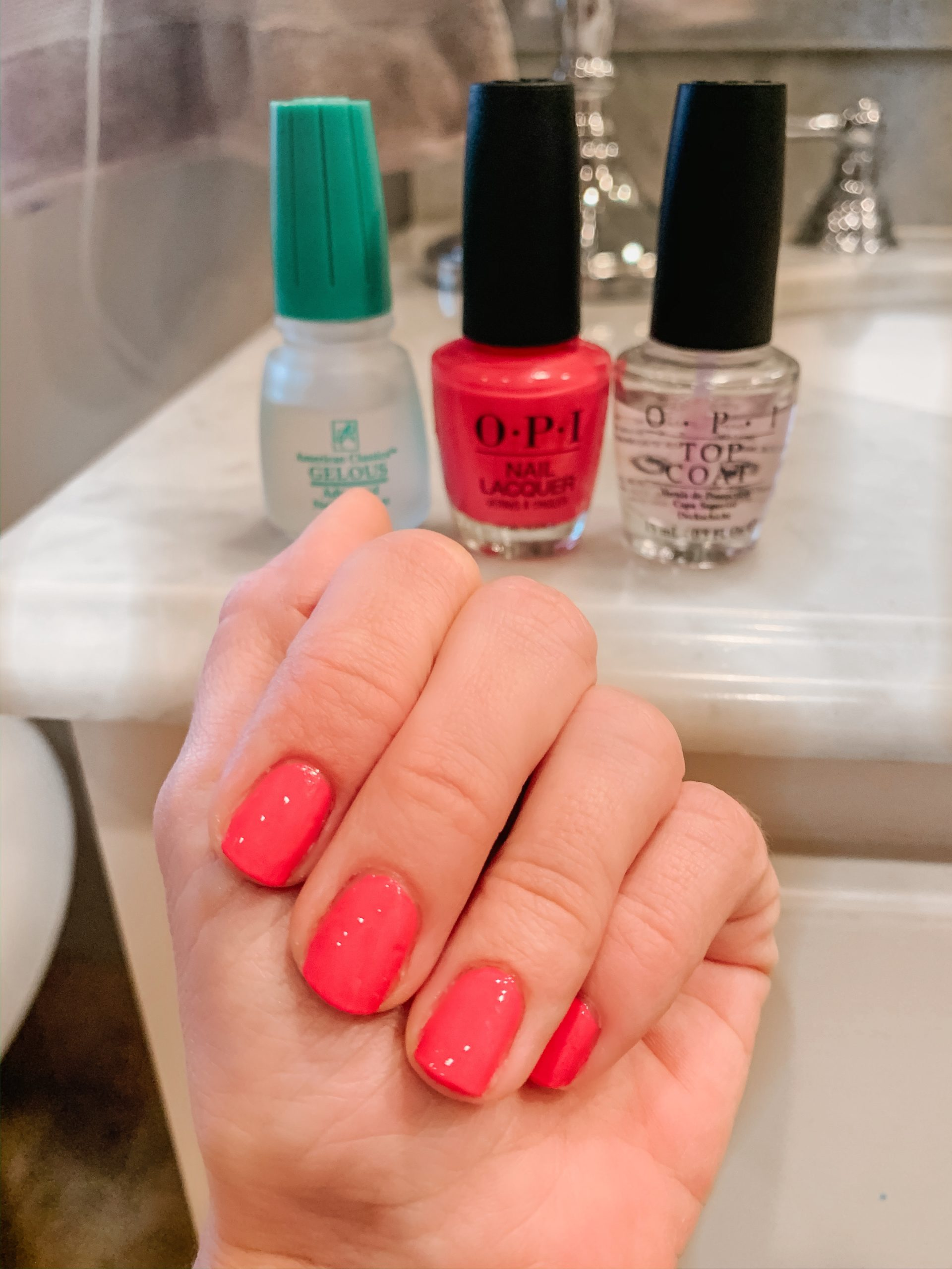 Gel Nails Without Uv : nails, without, Perfect, Manicure, (Without, Light), Honey, We're