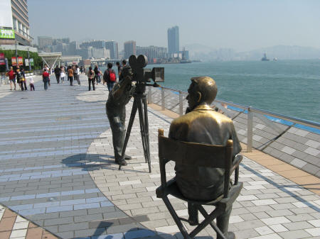 Avenue of the Stars - Hong Kong Tourist Attraction