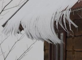 Sauna lumest tukk