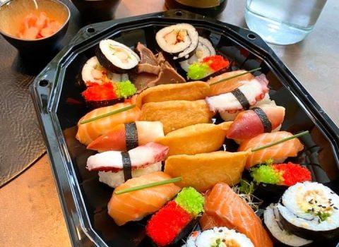 Sushi schotel (14 stuks)