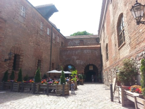 Renaissance restaurant, served by people in peasant clothing