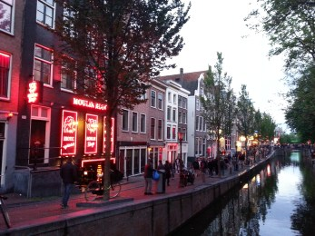 Red light district!