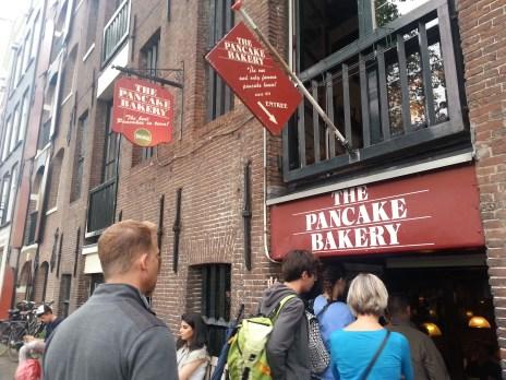 Famous place for Dutch pancakes!