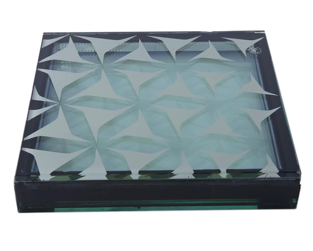 High Temperature Silk Screen Glass  Architectural Glass Manufacturer