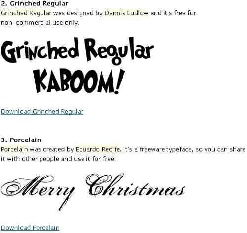 woork_Christmas_fonts