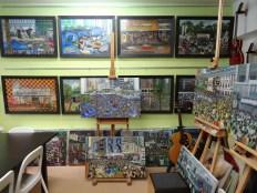Perry Dino's studio in Kwun Tong