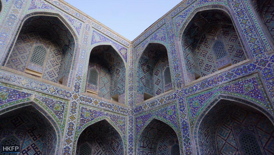 Samarkand's Registan.