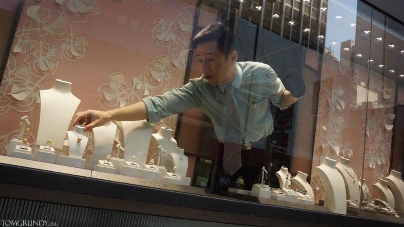 Mong Kok Occupy jewellery shop