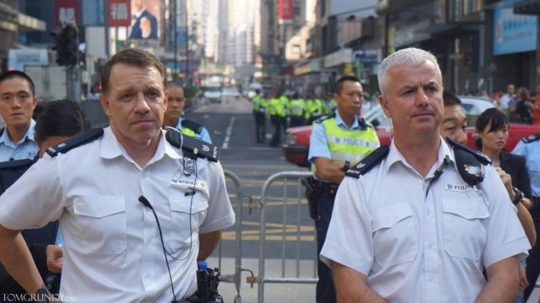 Hong Kong police officer