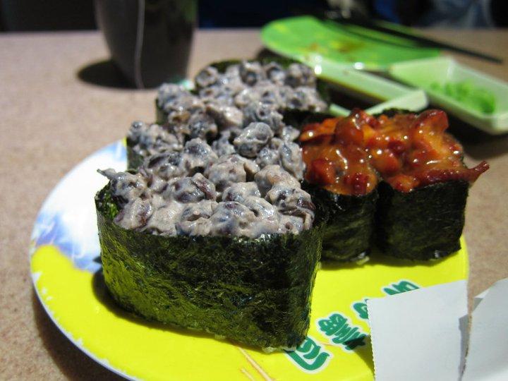 Red bean sushi Ming general