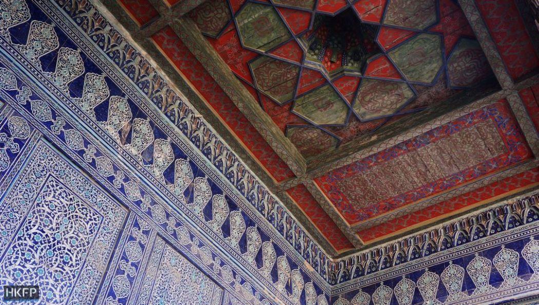 Khiva's Tosh-Hovli Palace.