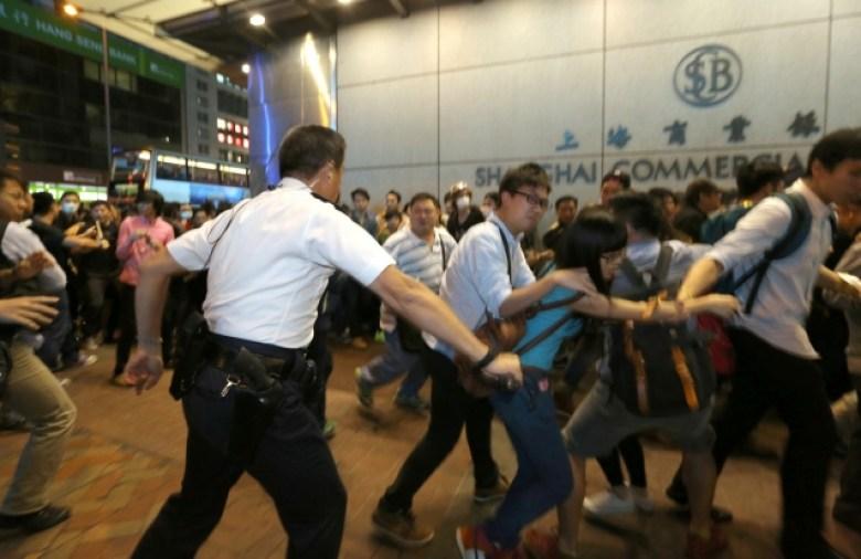 Chu King-wai mongkok occupy hong kong