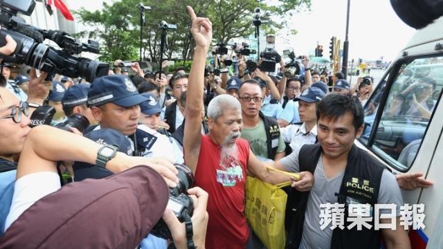 Koo Sze-yiu taken by police
