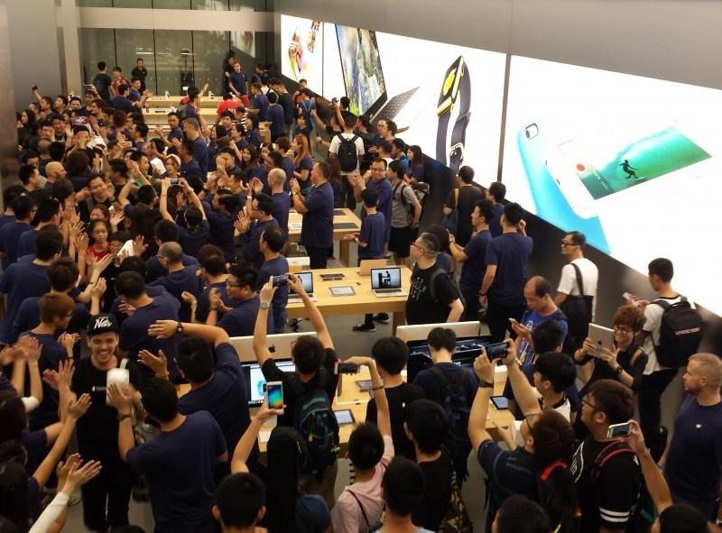 new apple store tst