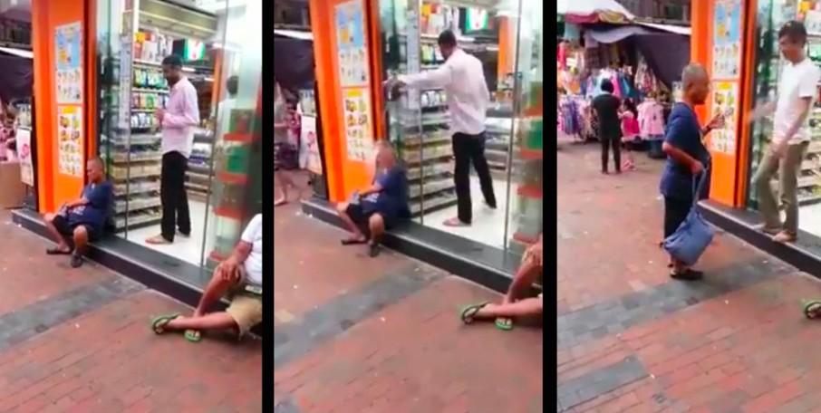 Hong Kong prankster