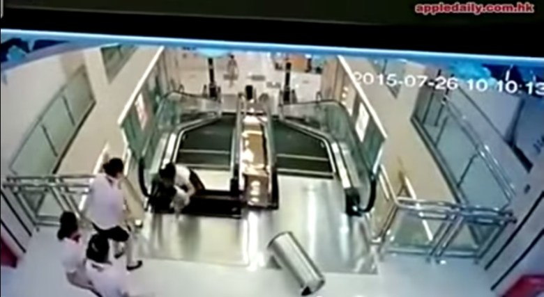 escalator horror