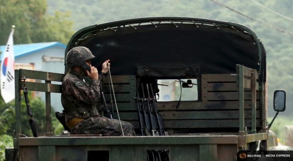 north south korea military