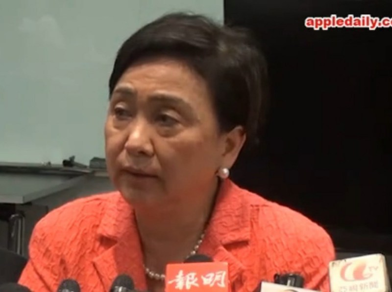 Emily Lau. Photo: Apple Daily.