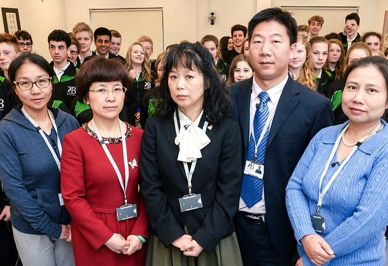 chinese teachers british school