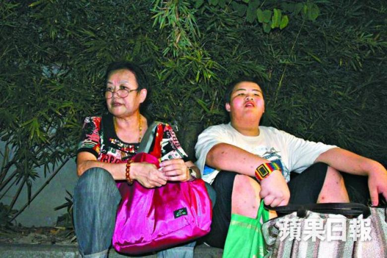 12-year-old overstay mainland boy and grandmother